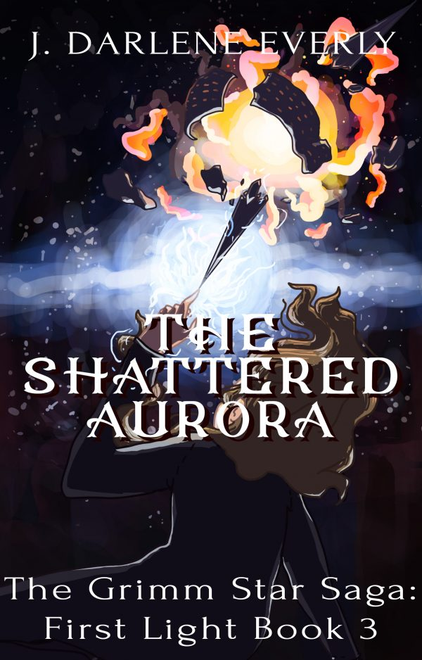 cover reveal of The Shattered Aurora
